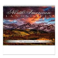 North American Landscape 2020 Calendar Cover