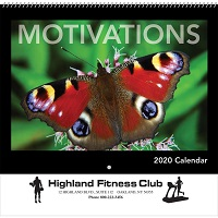 Motivations 2020 Wall Calendar Cover
