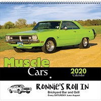 Muscle Cars 2020 Calendar Cover