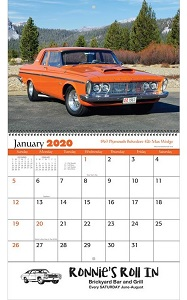 Muscle Cars 2020 Calendars