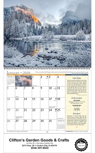 Old Farmers Almanac Country Calendar