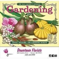Old Farmers Almanac Gardening Calendar Cover
