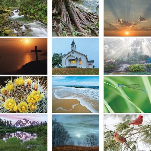 Monthly Scenes of Religious Reflections 2020 Calendar