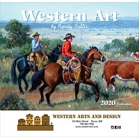 Western Art Wall Calendar Cover