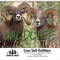 Wildlife 2020 Calendar Cover