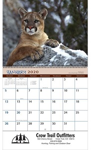 Wildlife 2020 Promotional Calendars