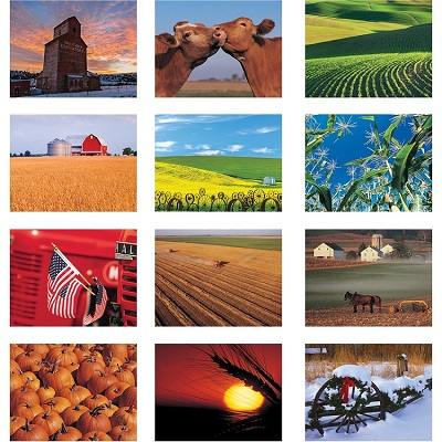 Monthly Scenes of American Agriculture 2021 Calendar