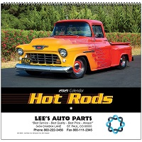Hot Rods Vehicle Calendars