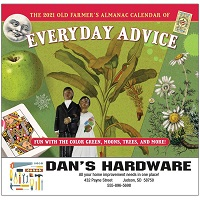 Cover of Everyday Advice Old Farmers Almanac Calendars