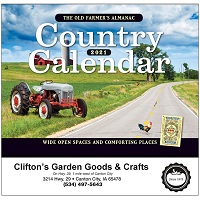Cover of Old Farmer's Almanac Country Calendar