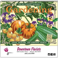 Cover of Old Farmers Almanac Gardening Calendar