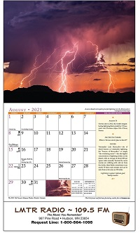 Old Farmers Almanac Weather Watchers Calendar