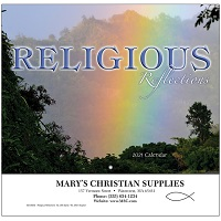 Cover of Religious Reflections Inspirational Calendars