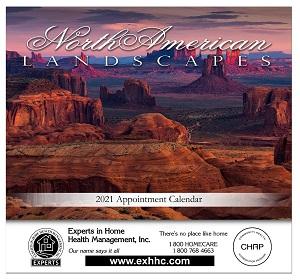 Scenic Landscapes 2021 Calendar